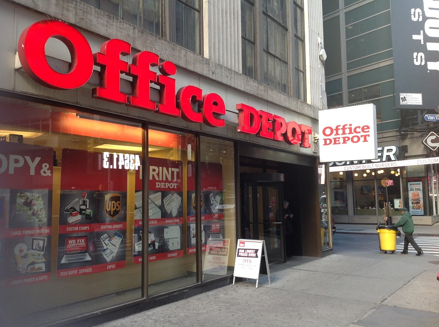Office Depot Apologizes