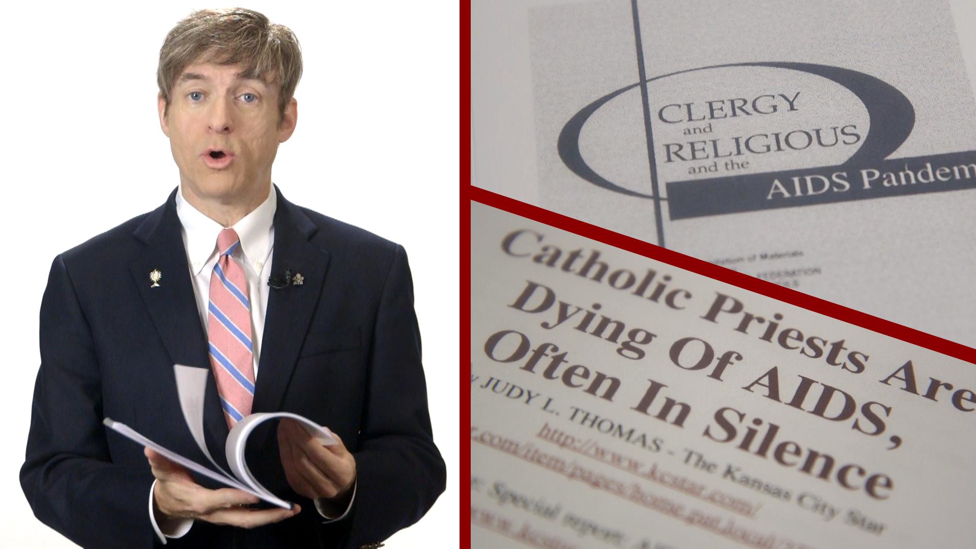 Homosexuality in the priesthood and the religious life