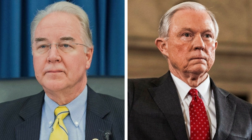 Life Price and Sessions Confirmed to Trump Cabinet