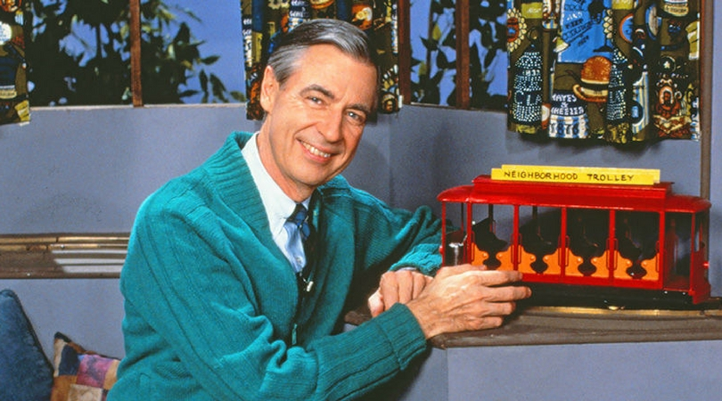 Image result for picture of Mr. Rogers