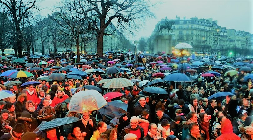 Tens of Thousands March for Life in France