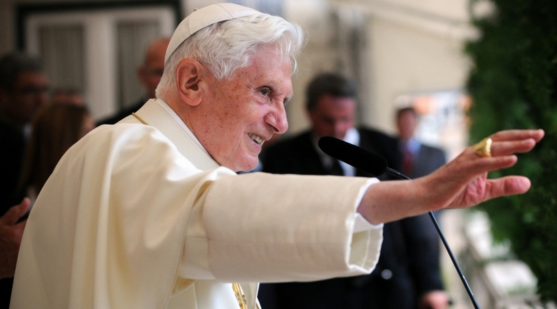 Pope benedict on homosexuality