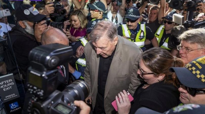 Two Dozen Australian Journalists Appear in Court for Breach of Media Gag Order on Cdl. Pell