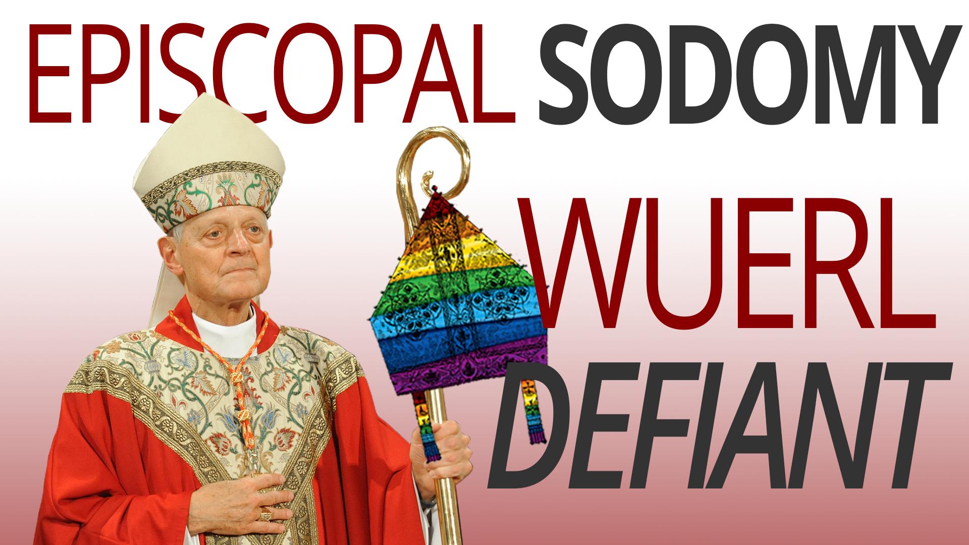 Image result for EPISCOPAL SODOMY - WUERL DEFIANT