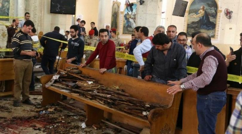 Catholic Leaders Condemn Egypt Bombing of Coptic Churches