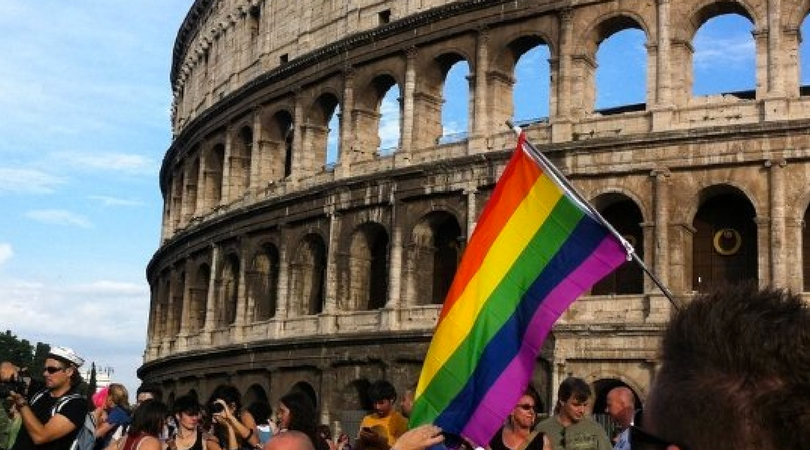 In vatican and rome alike, slow progress on gay rights
