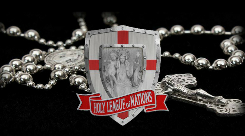 Holy League of Nations' Rosary Uniting Catholics Worldwide