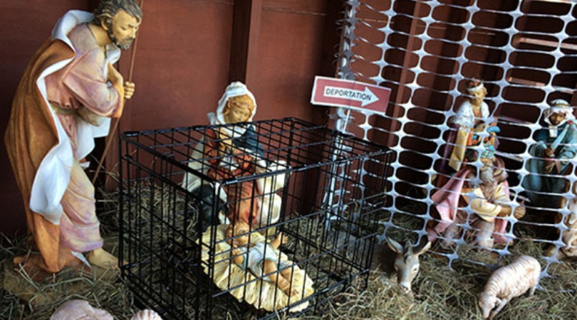 Migrant-Themed Nativity Featured at Pro-Gay Parish