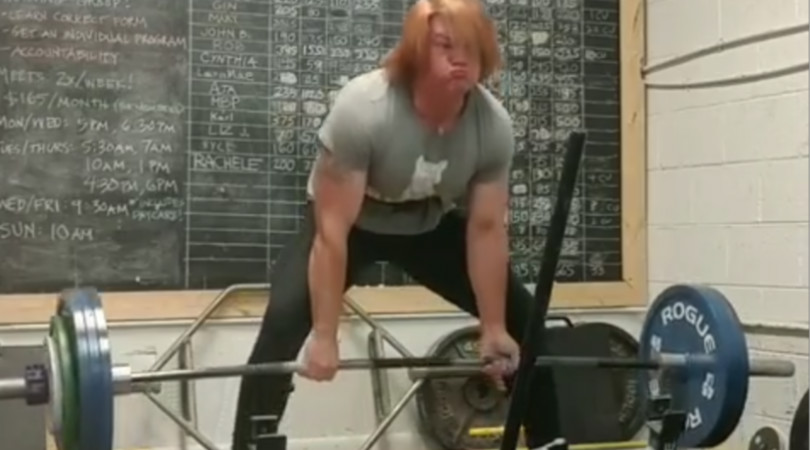 Biological Male Dominates Female Powerlifting Record