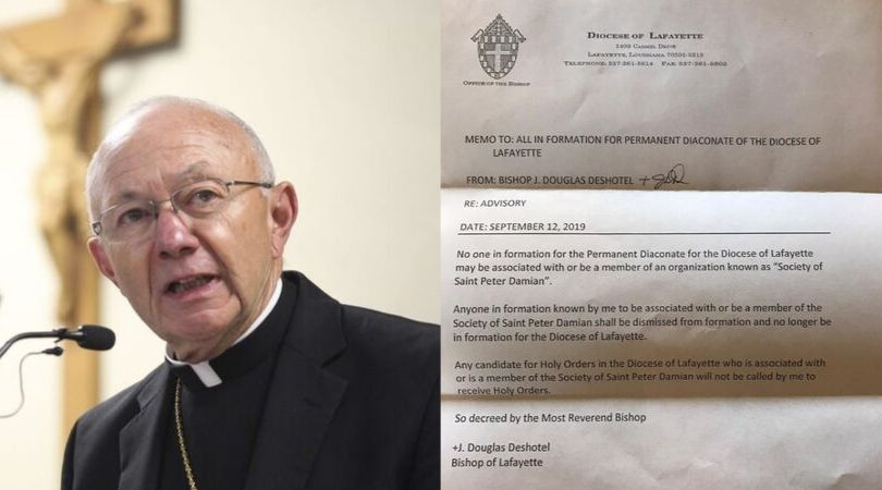 Louisiana Bishop Threatens to Kick Out Seminarians Associated With Whistleblowers