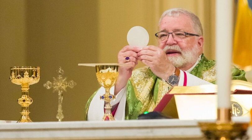 Illinois Bishop Defends Christ's Real Presence