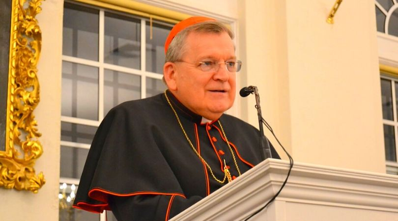 Cdl. Burke Reiterates: No Communion for Pro-Abort Politicians