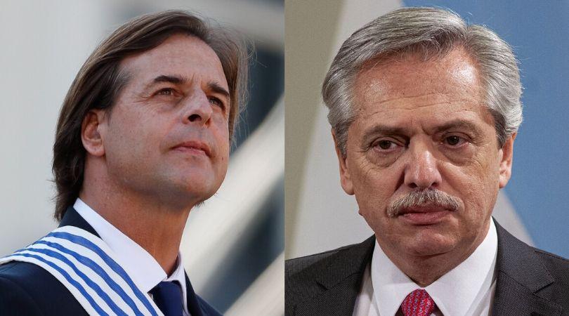 Presidentes de Uruguay y de Argentina