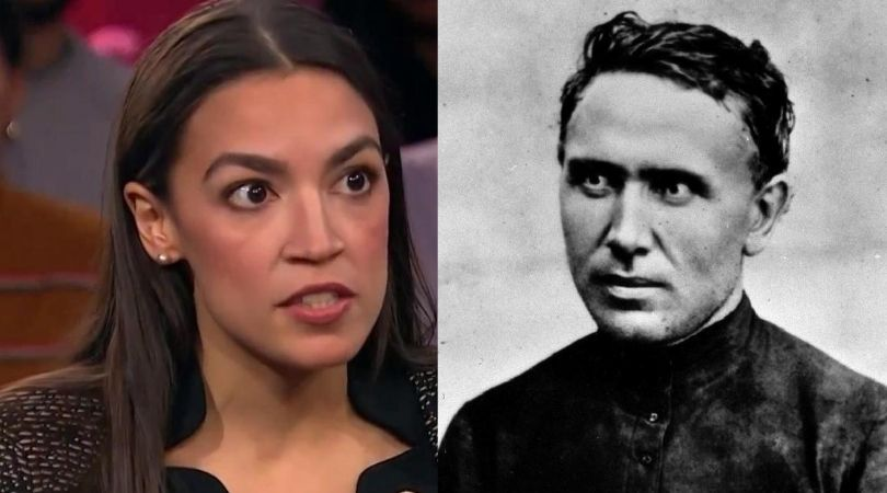AOC Attacks a Saint