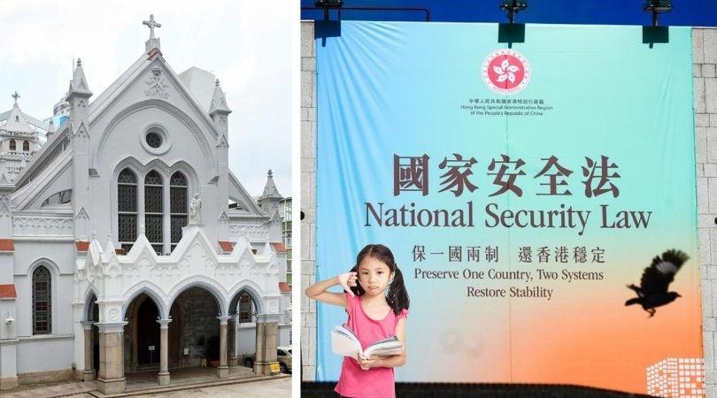 Catholic Schools Push China's Security Law