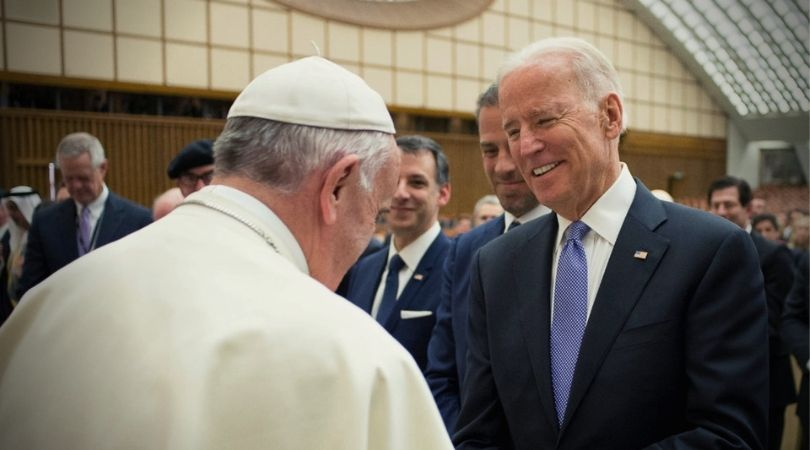Pope Francis Signaling Support for Joe Biden?