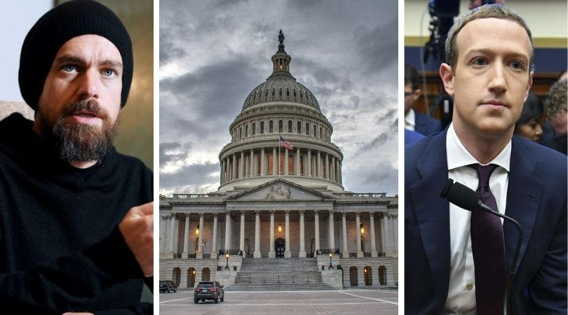 Twitter, Facebook CEOs Subpoenaed by Senate Judiciary Committee