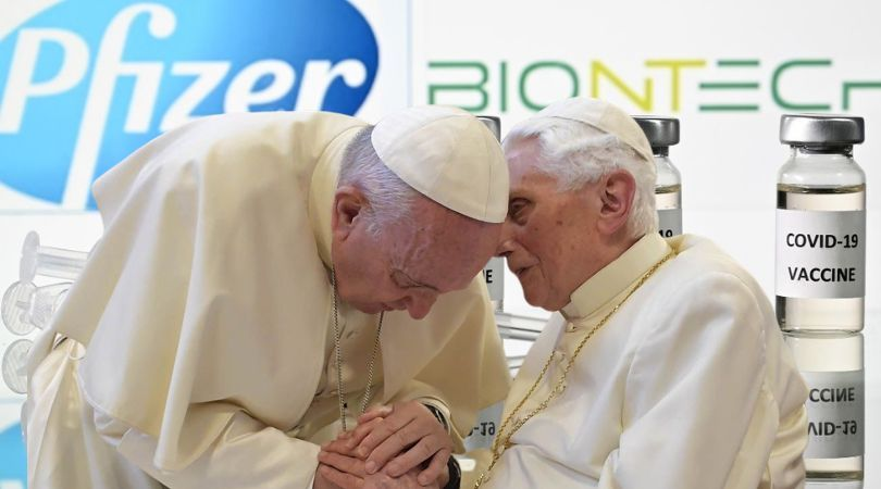 Two Popes Take Abortion-Tainted Vaccine