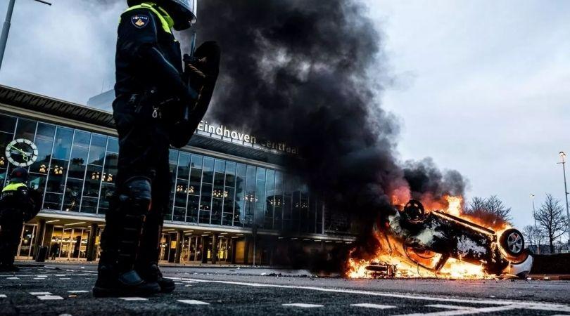 Anti-Lockdown Rebellion Sweeps Europe
