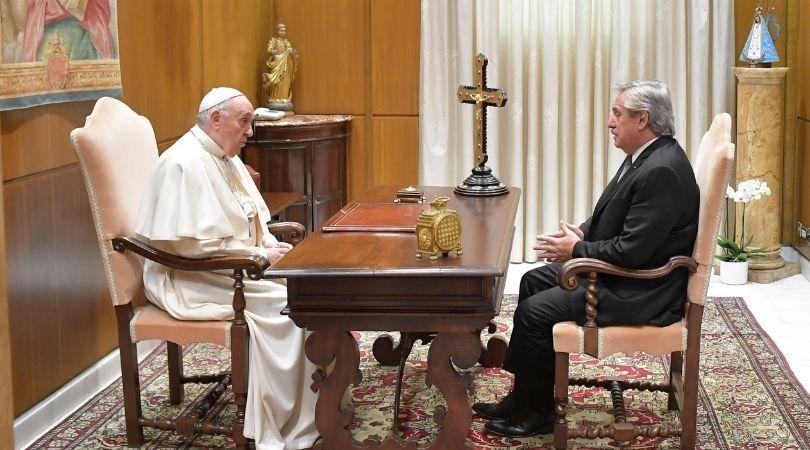 Pro-Abort Argentine President Revisits Pope