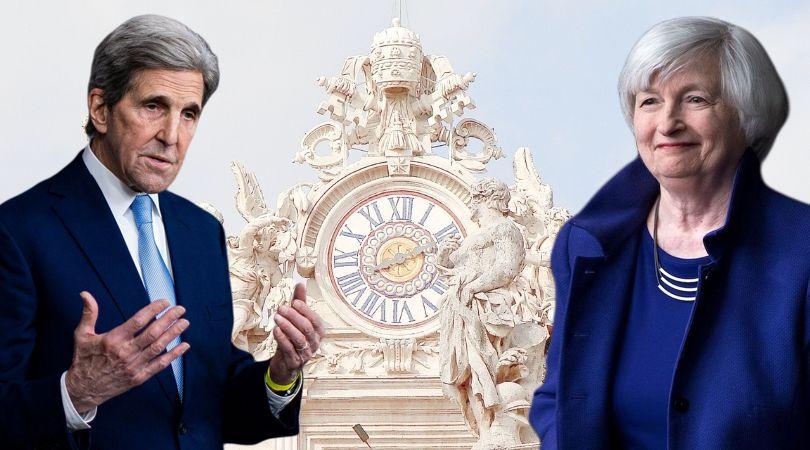 Vatican Hosts Biden Big Guns at Reset Forum