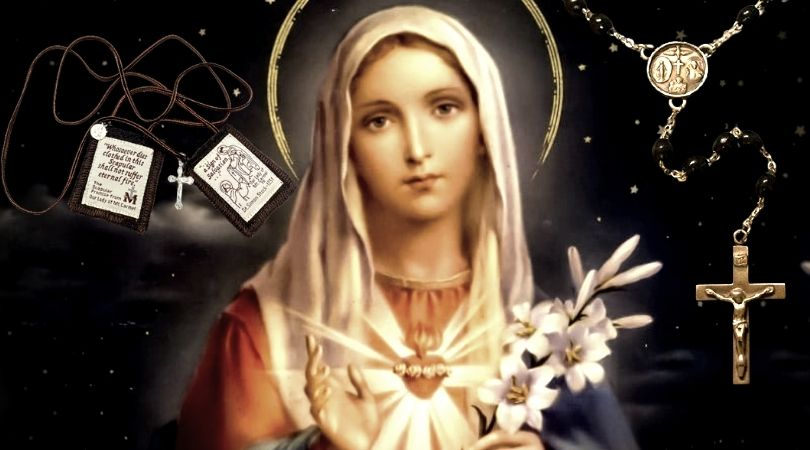 Supplication to the Most Holy Virgin Mary
