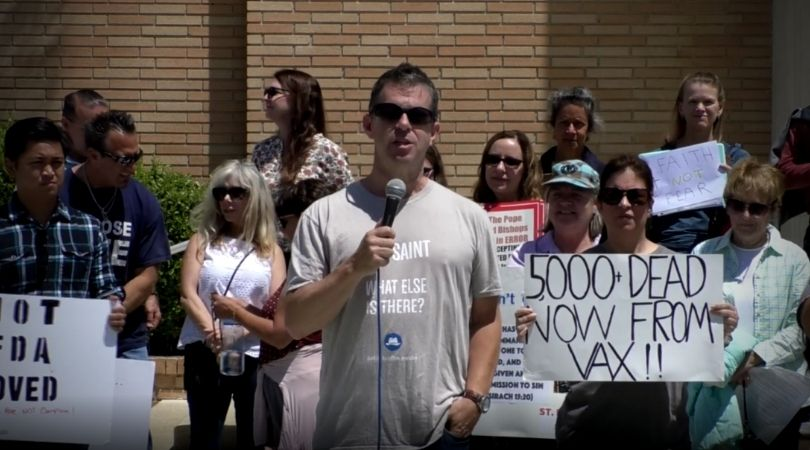 Resistance Jabs Back at Vaccine Drive