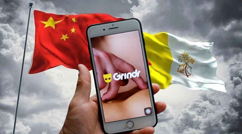 Is China Using Grindr to Blackmail Vatican?