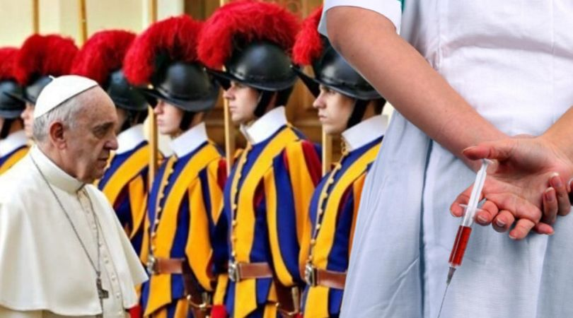 Swiss Guard Indicts Pope for Vax Blackmail