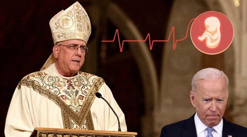 Bishop Lambasts Biden