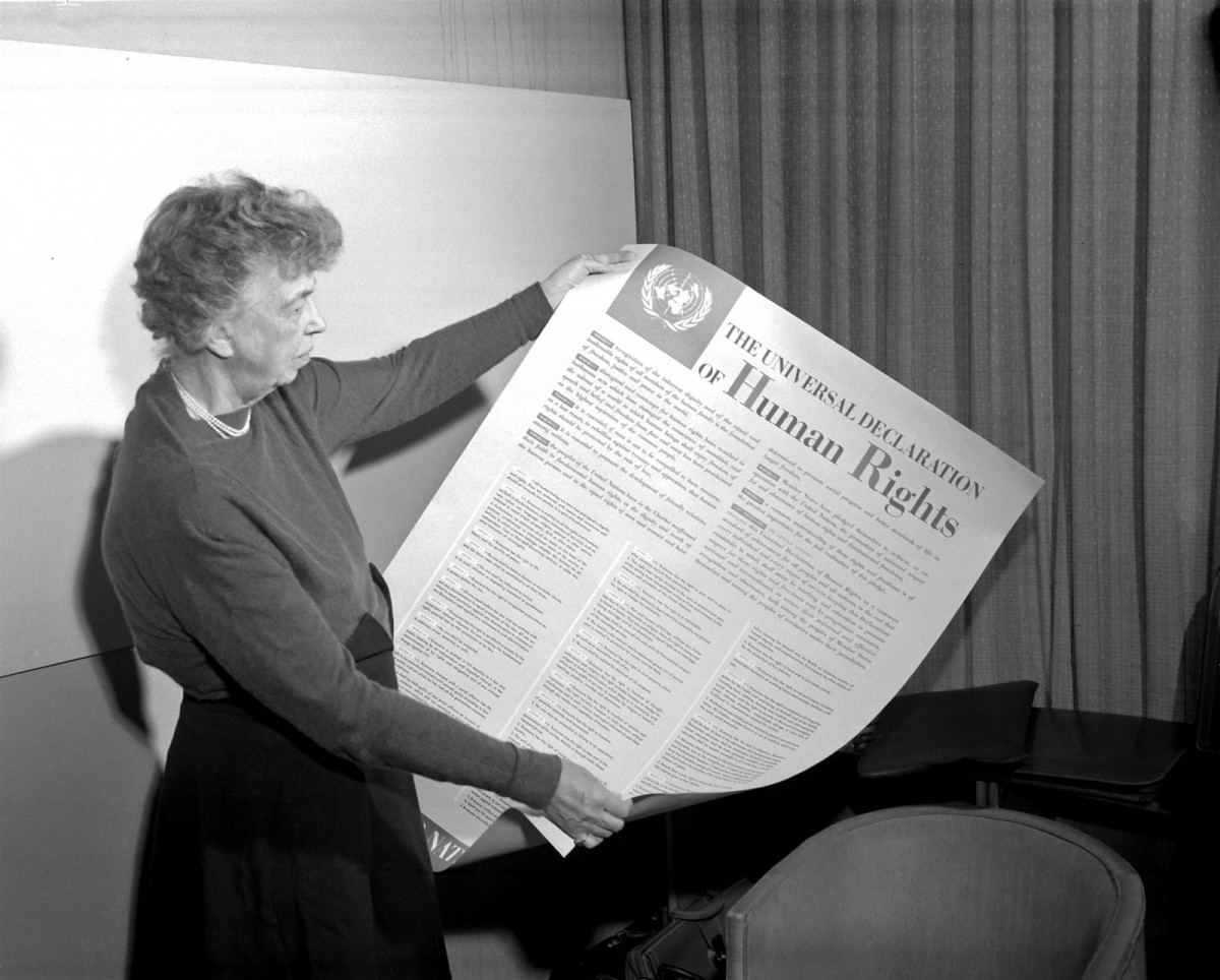 News au 28 juin 2020 Eleanor-Roosevelt-poster-Universal-Declaration-of-Human