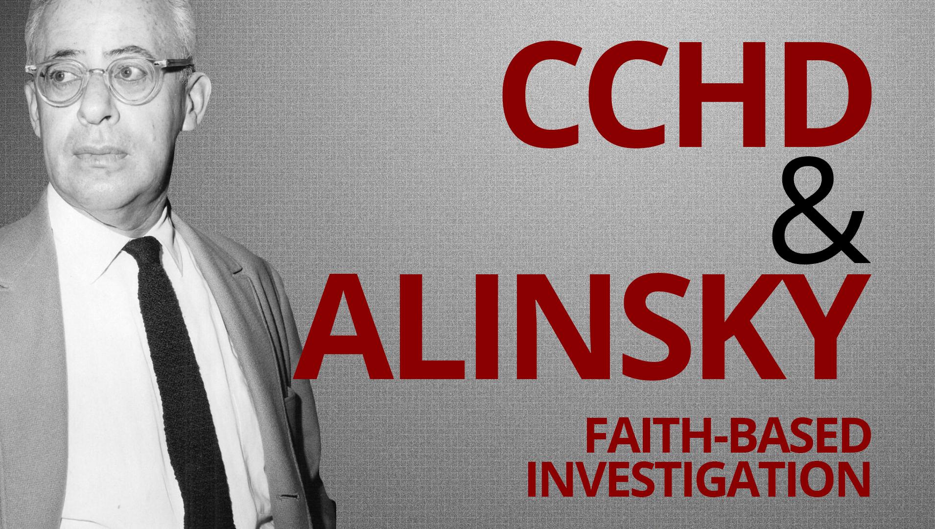 FBI—CCHD & Saul Alinsky