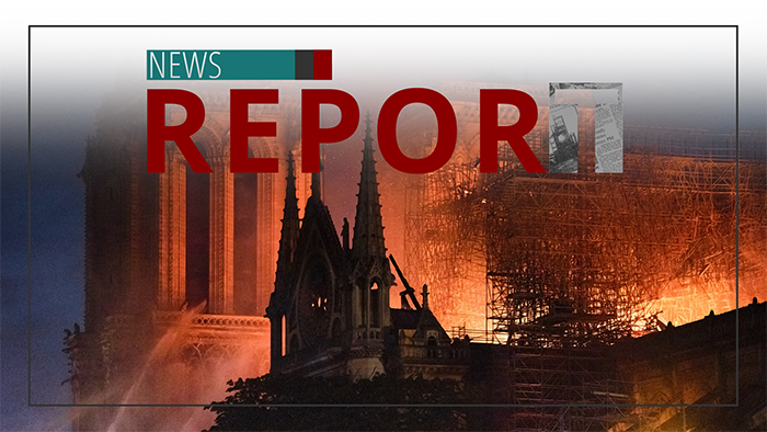 Church's Eldest Daughter Collapsing