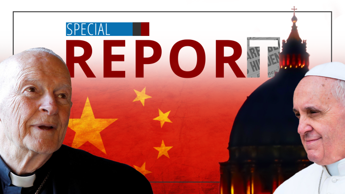 Special Report: Vatican China Sellout