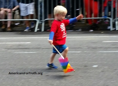 Image result for new york gay parade child