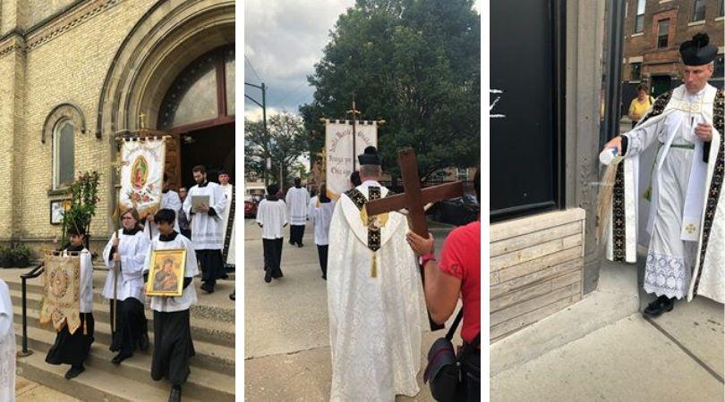 Priest and Parishioners Battle Satan in Chicago